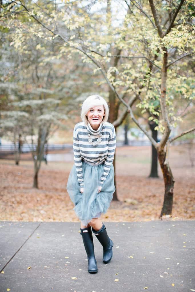 www.loverlygrey.com - @loverlygrey - Silver Tulle Tutu Skirt