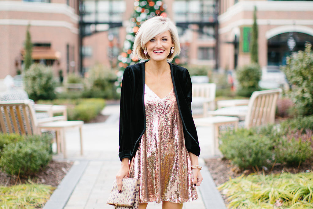 Get New Year's Eve Ready – Sparkly Dress