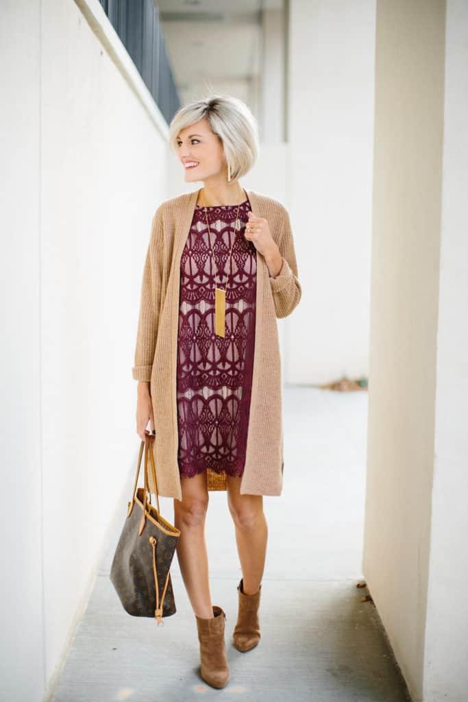 camel + lace - @loverlygrey - www.loverlygrey.com