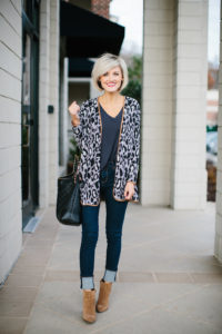 leopard cardigan - @loverlygrey www.loverlygrey.com