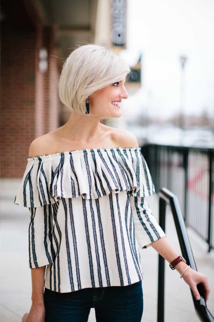 striped ots top - loverlygrey.com
