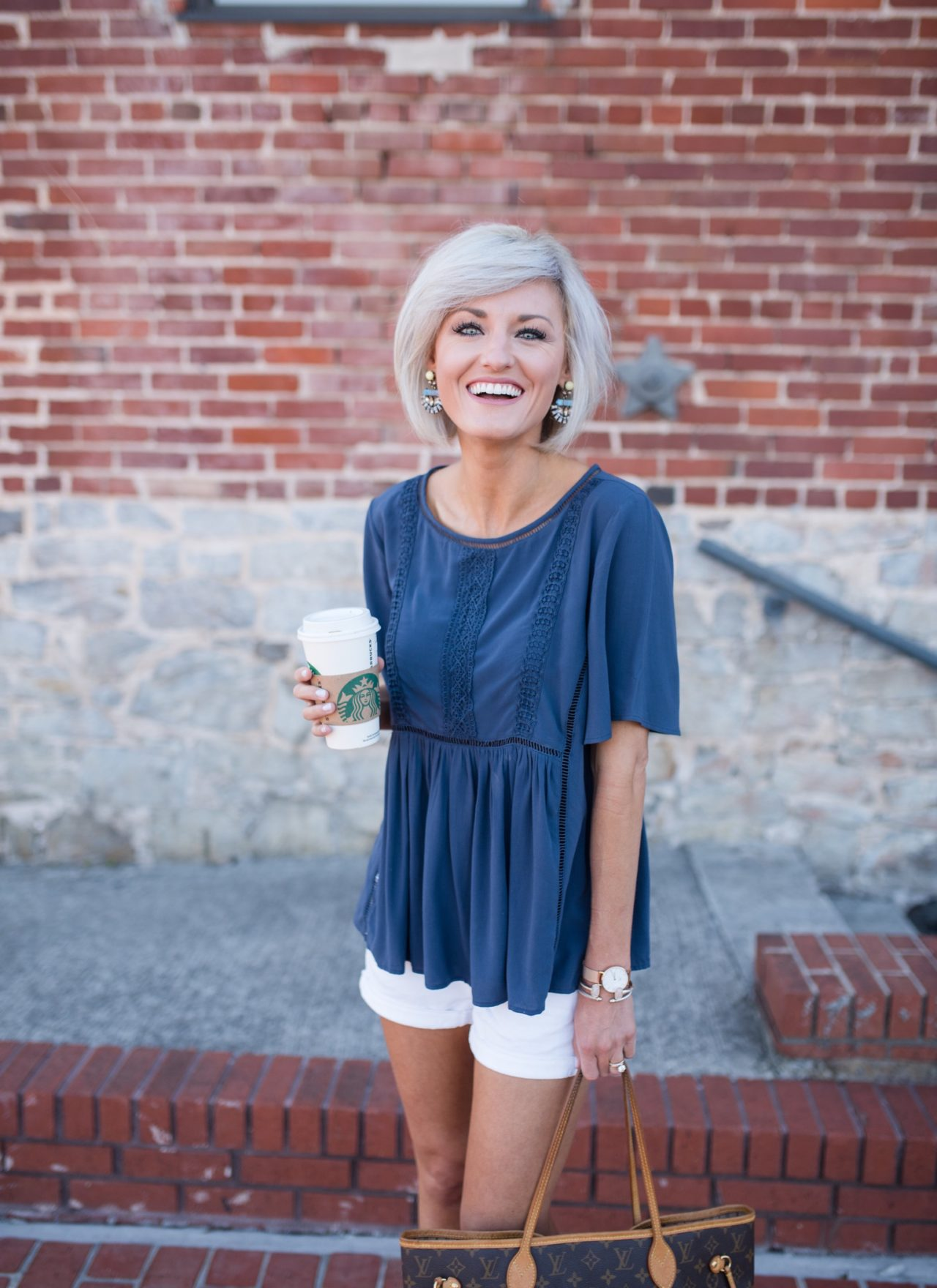 40% Off Navy Top + Sale
