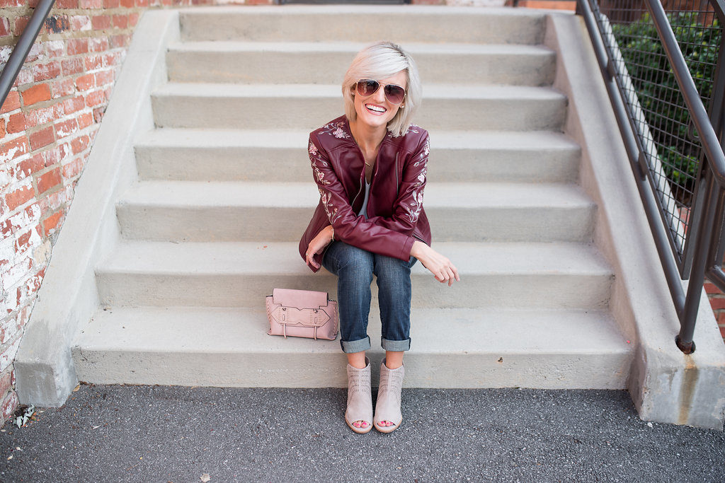 The Best Faux Leather Jacket for Fall