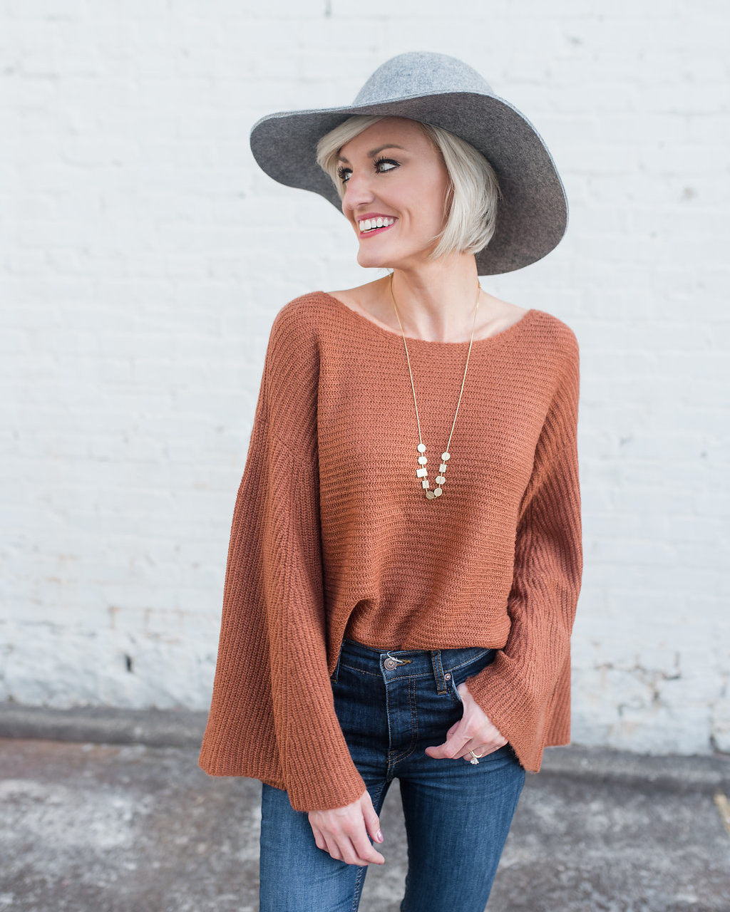 Flare Sleeve Sweater + Fun Facts