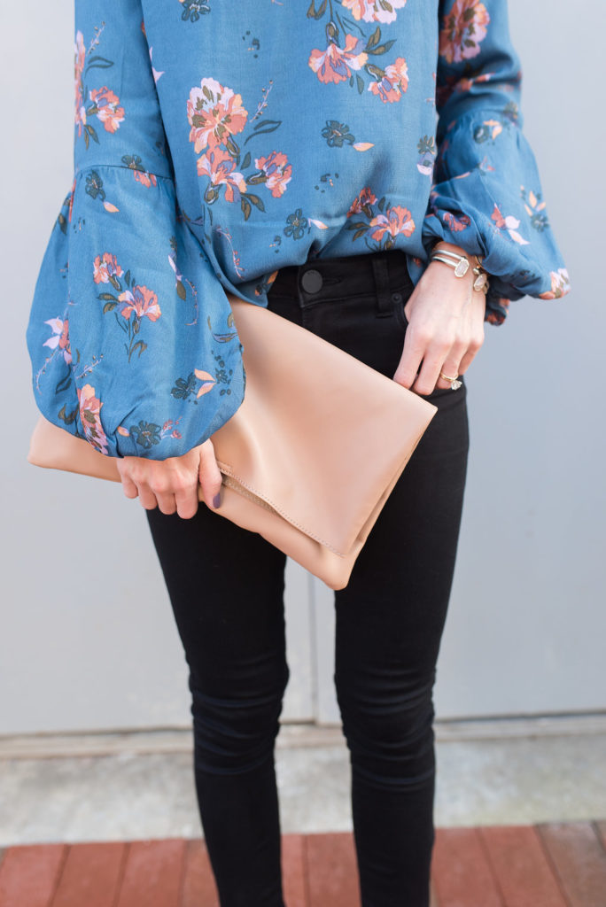 pink clutch - @loverlygrey