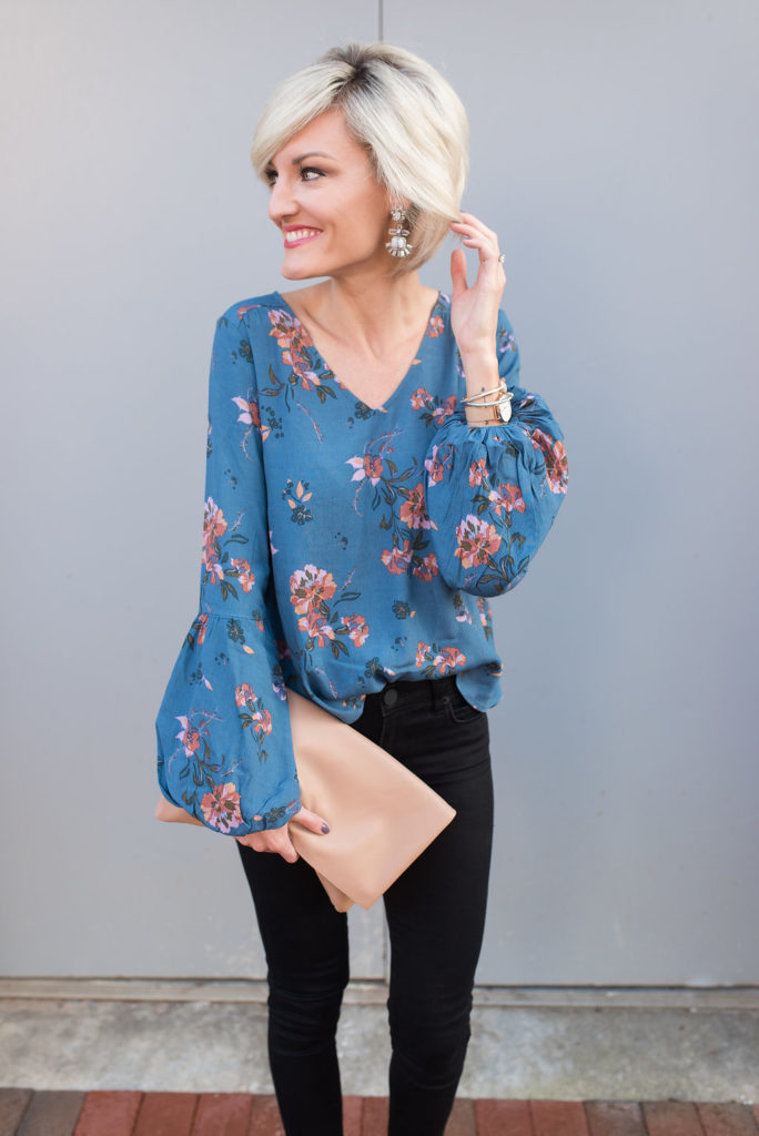 balloon sleeve blouse - @loverlygrey