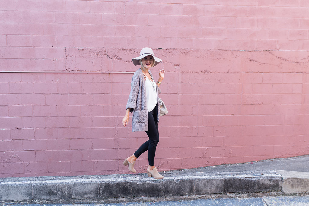 Easy Look for Fall – Cardigan Style