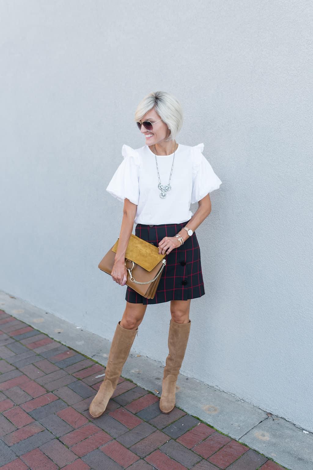 40% off Plaid Skirt + Sale Alert