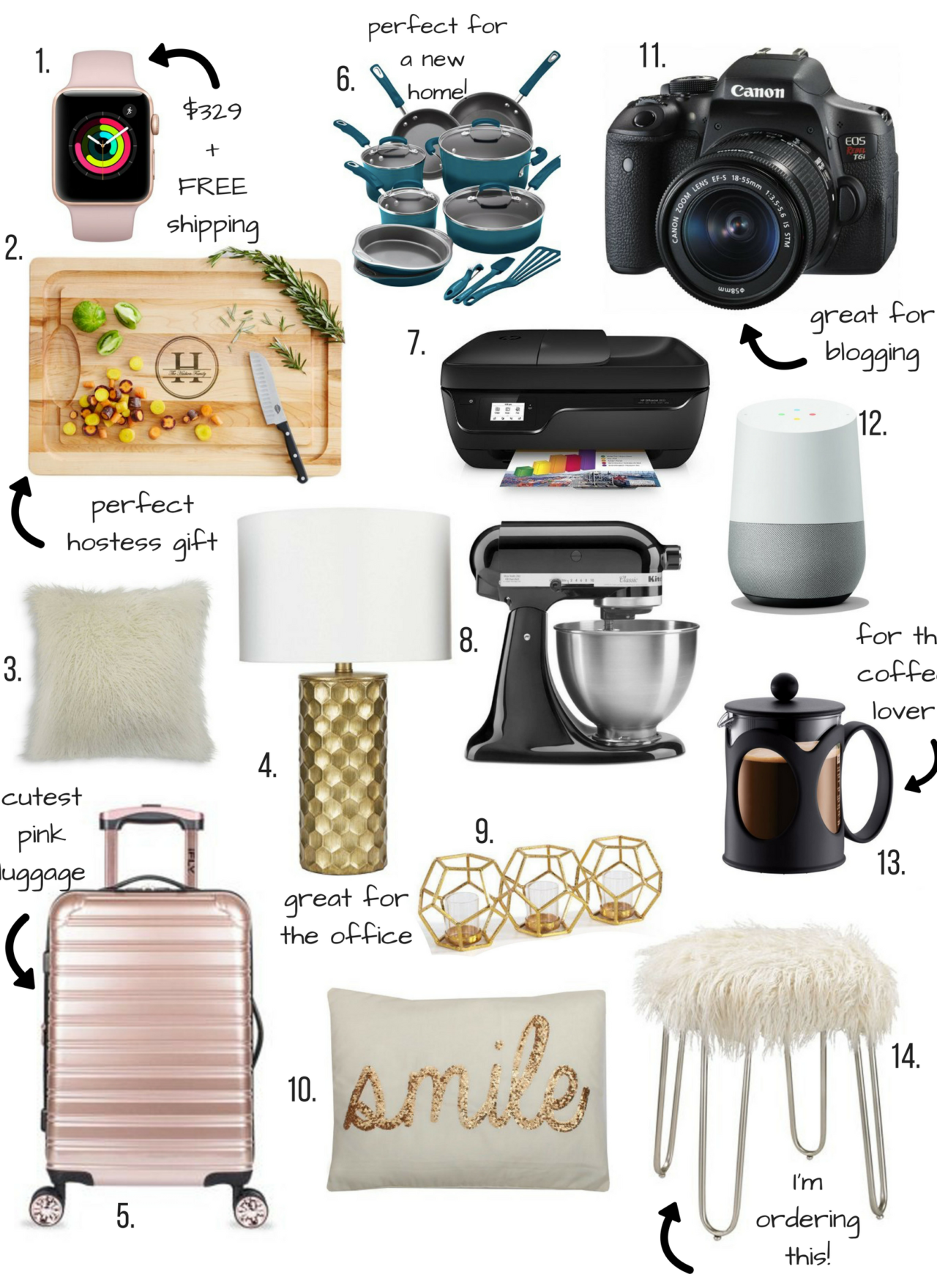 Gift Guide – Home and Hostess Gifts