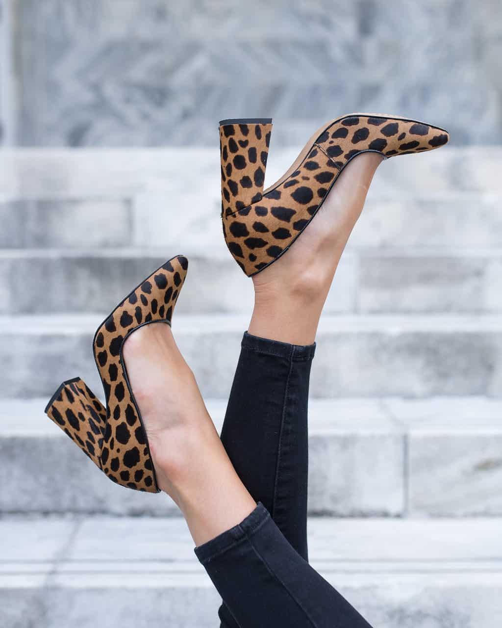 The Perfect Leopard Print Pumps