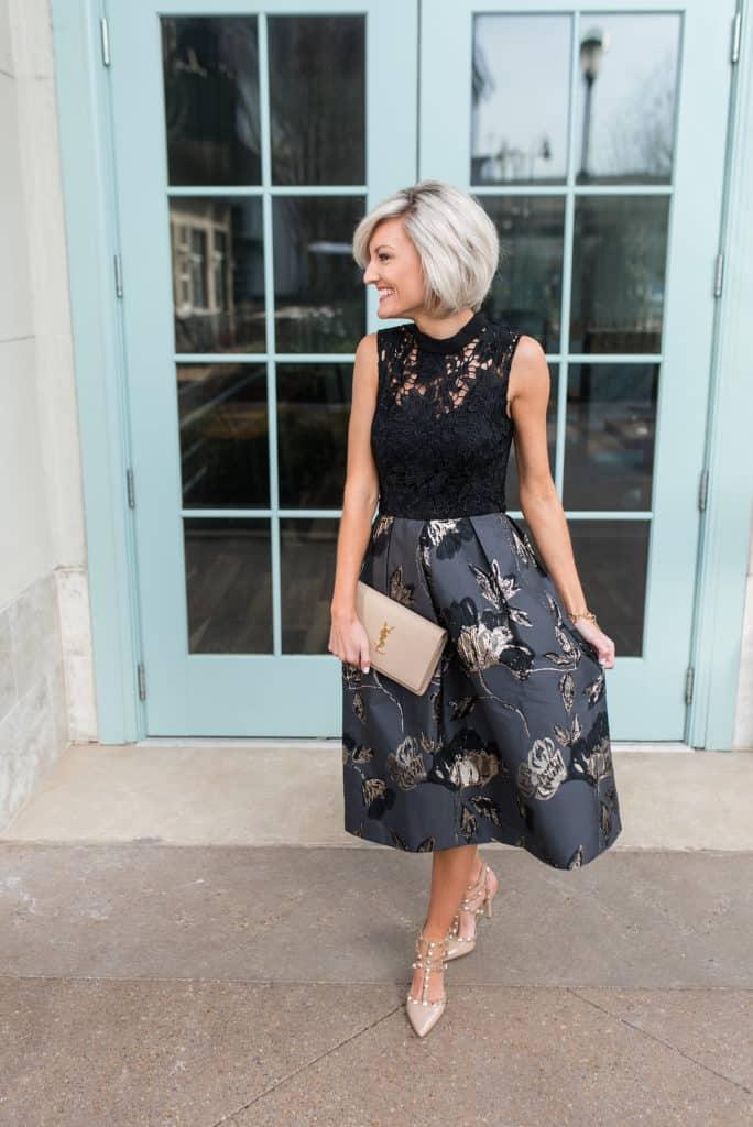 holiday dress style \\ www.loverlygrey.com