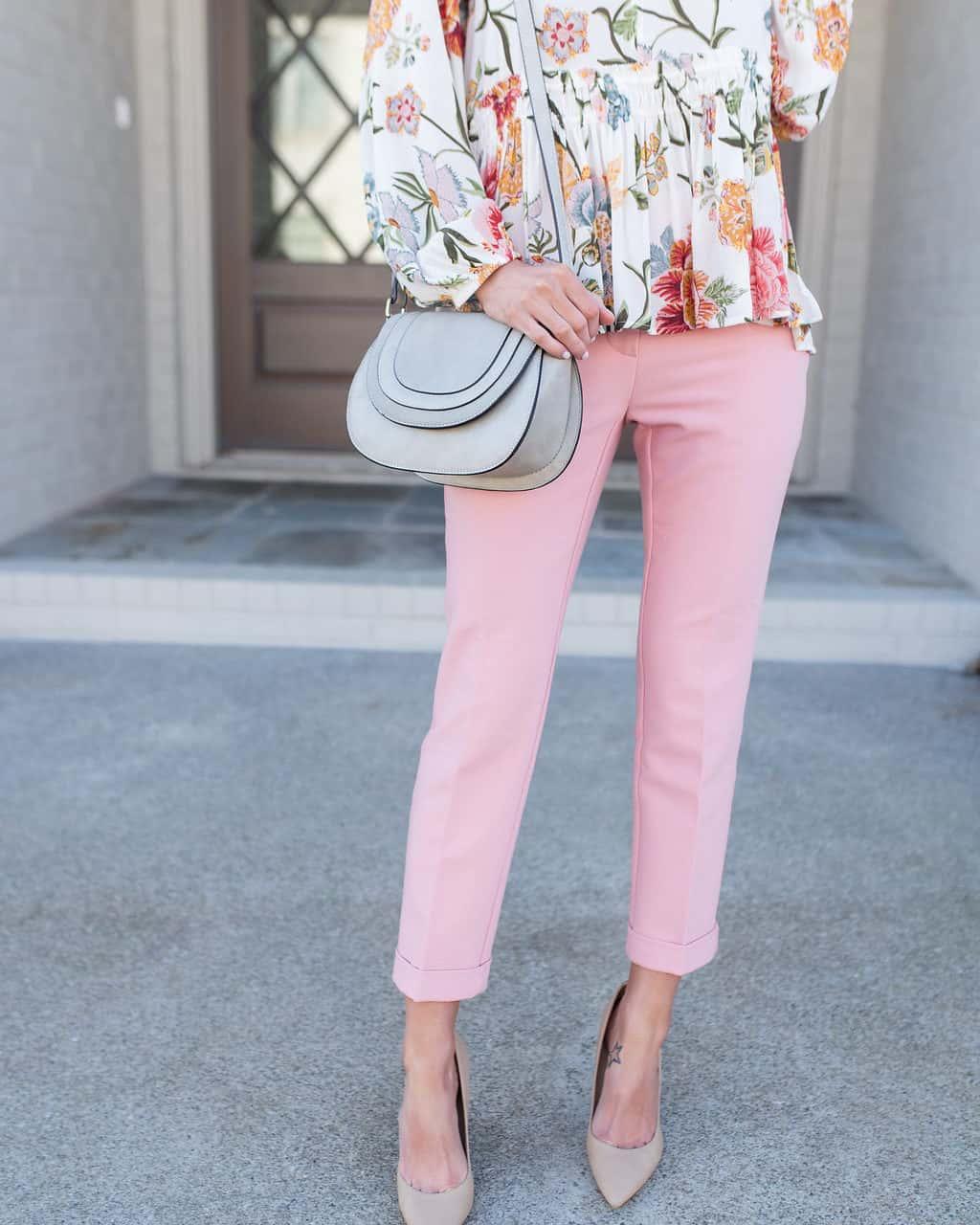 Work Wear Wednesday – Pink Pants