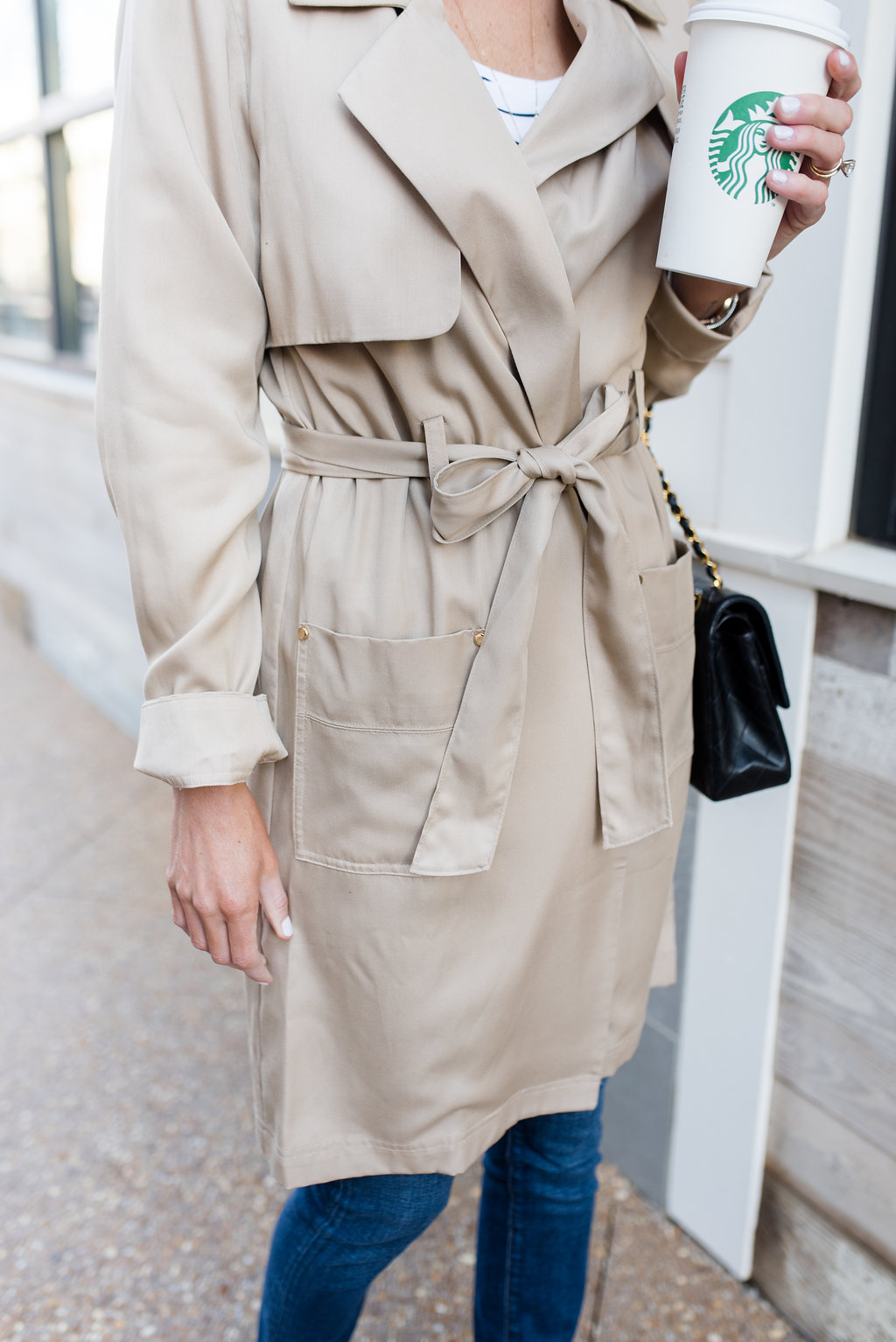 The 40 Trench Coat You Need Loverly Grey