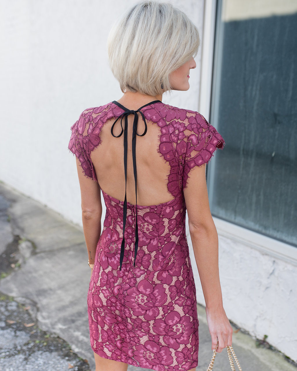 Pink Lace Dress – Perfect for Valentine's Day