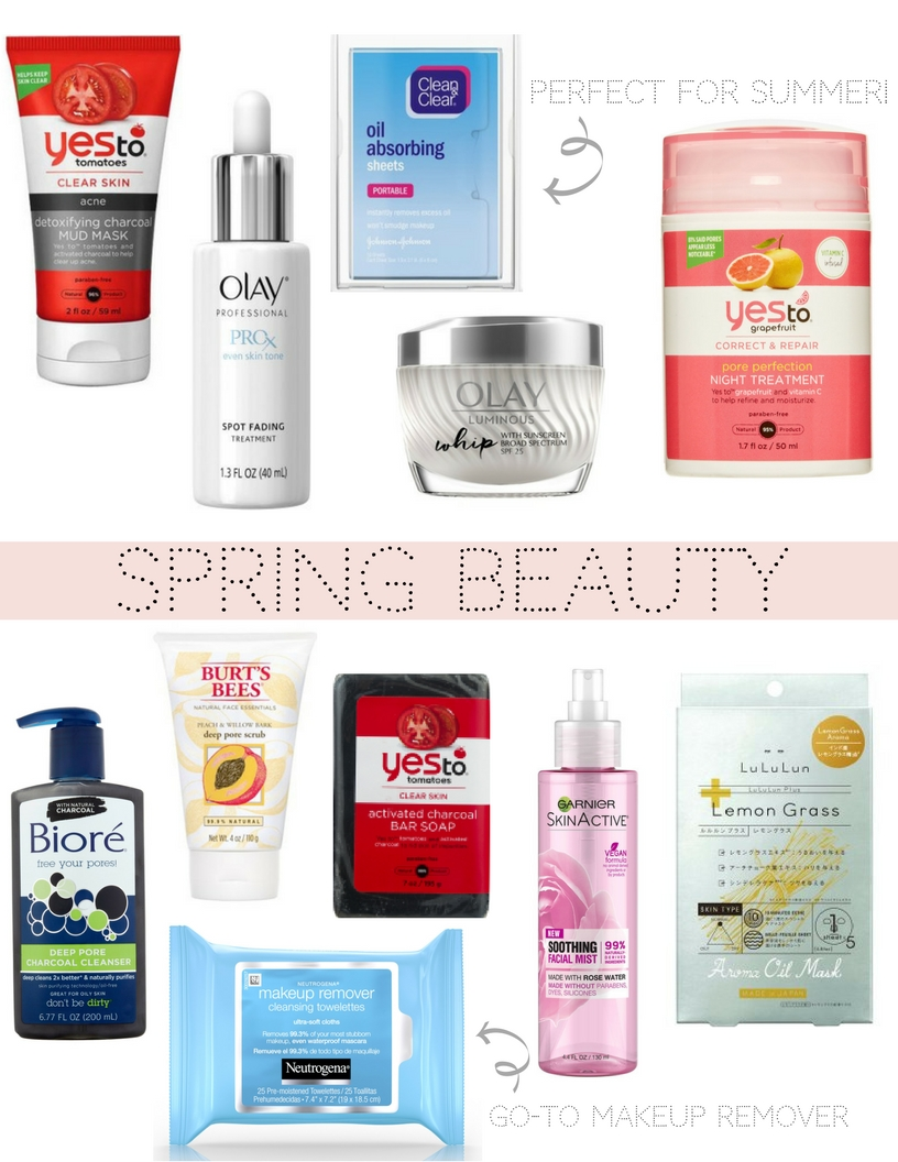 Spring Skincare & Beauty Finds with Walmart