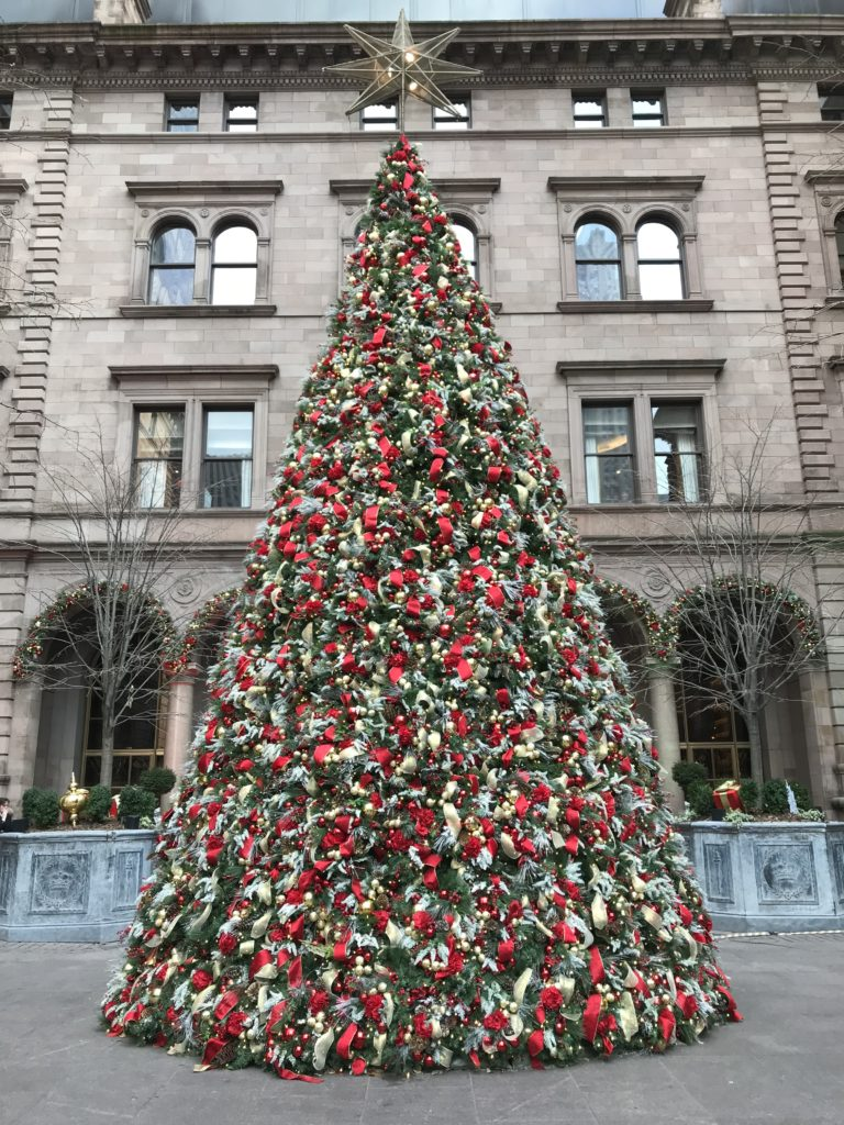 prettiest christmas tree in new york