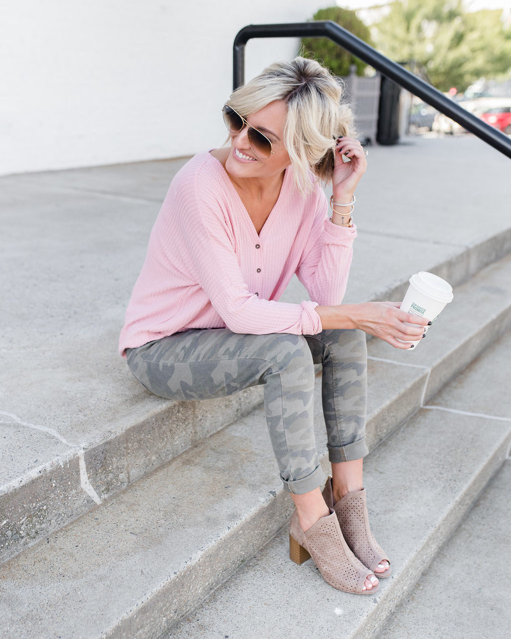 Casual Fall Look – Camo Edition – JCPenney