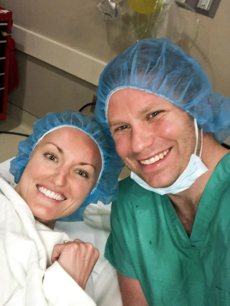 IVF egg retrieval