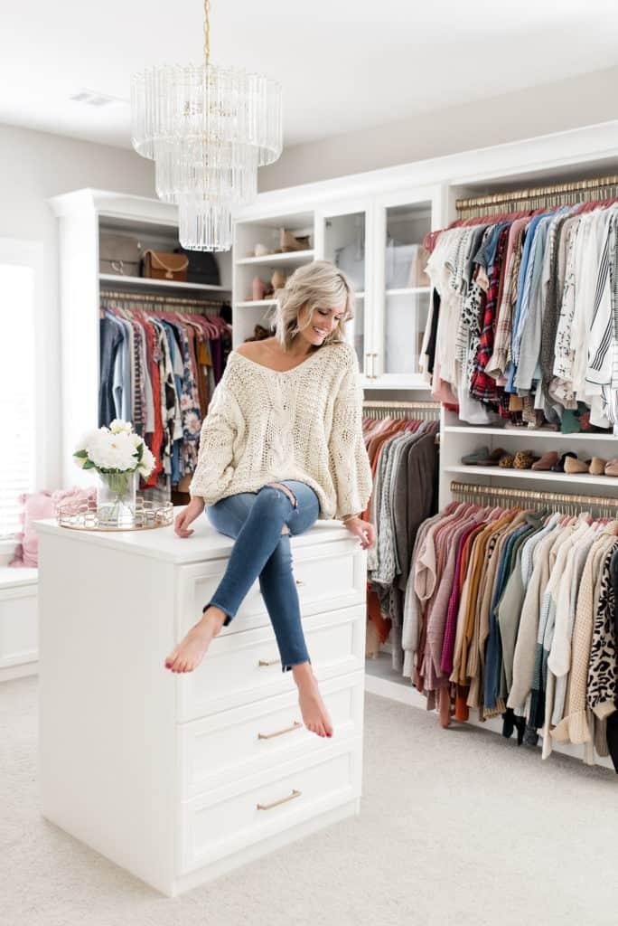 california closets custom walk in closet after photo