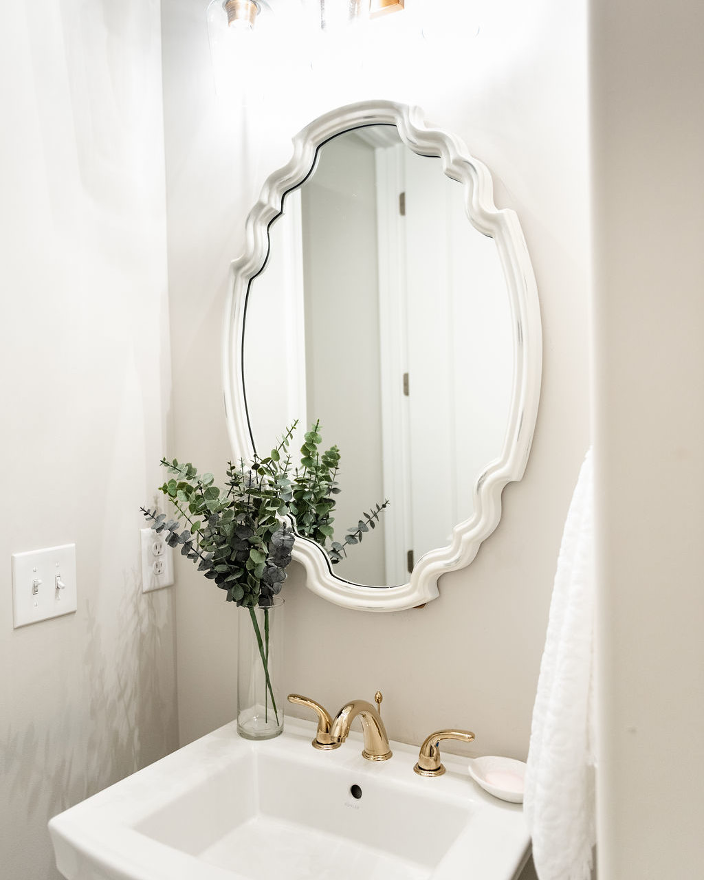 Half Bathroom Refresh with Home Depot