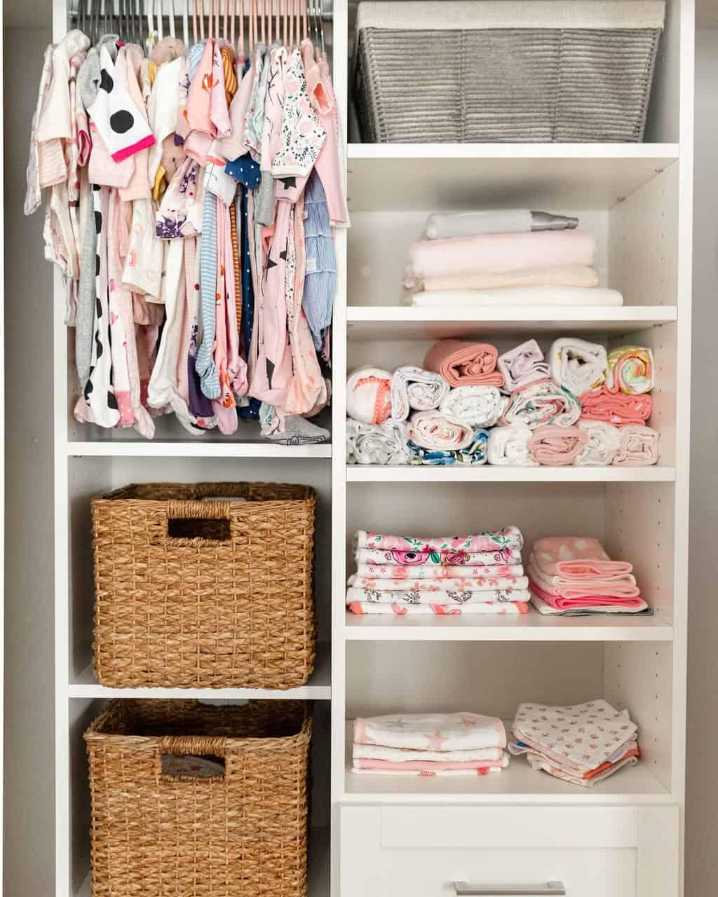 How I Designed and Organized Our Nursery Closet With California Closets