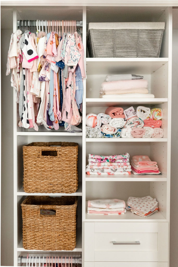 california closets baby nursery closet