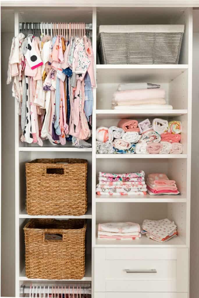 california closets baby nursery closet