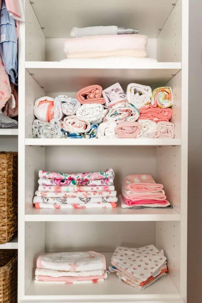california closets baby nursery closet shelves