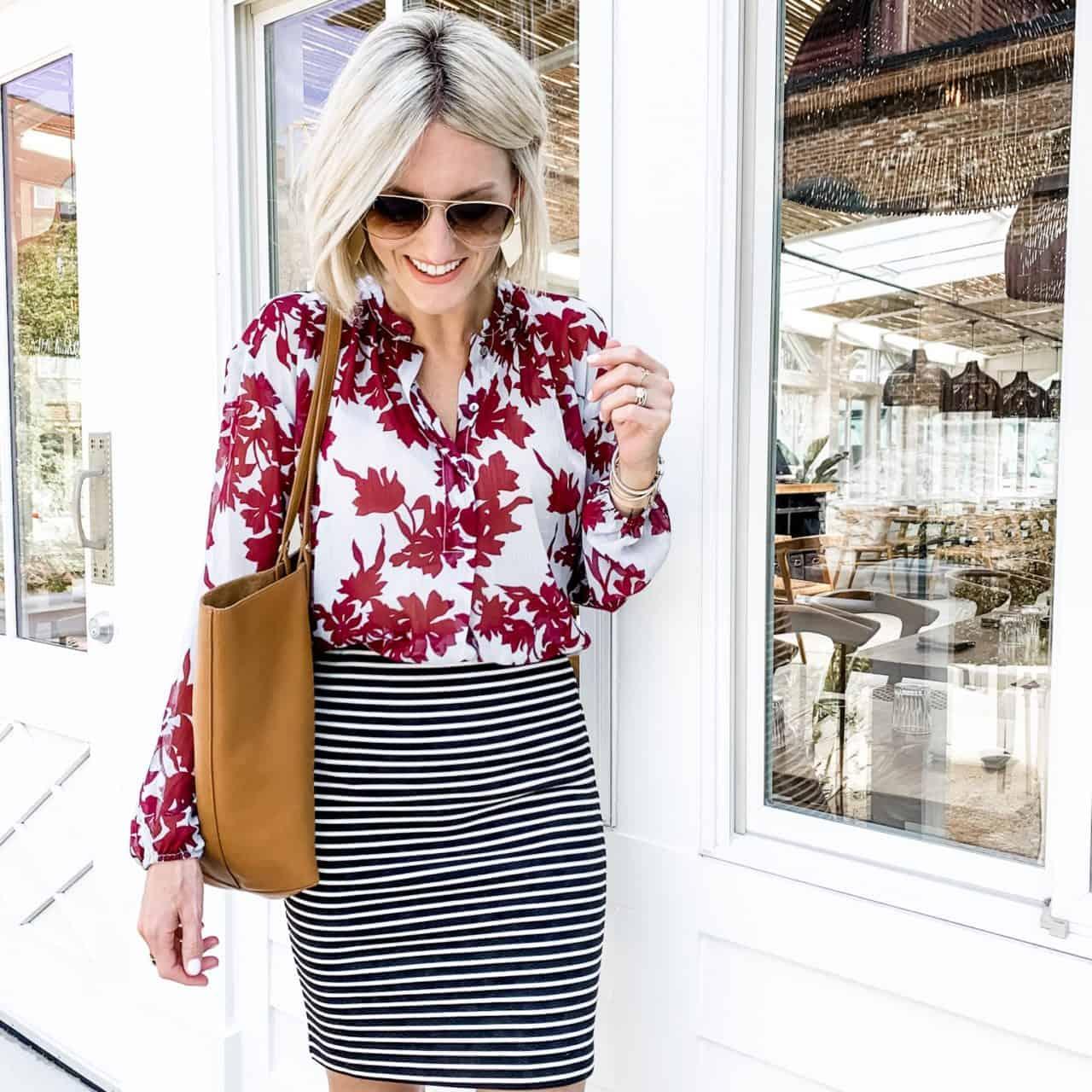 Wear to Work – Stripes & Florals