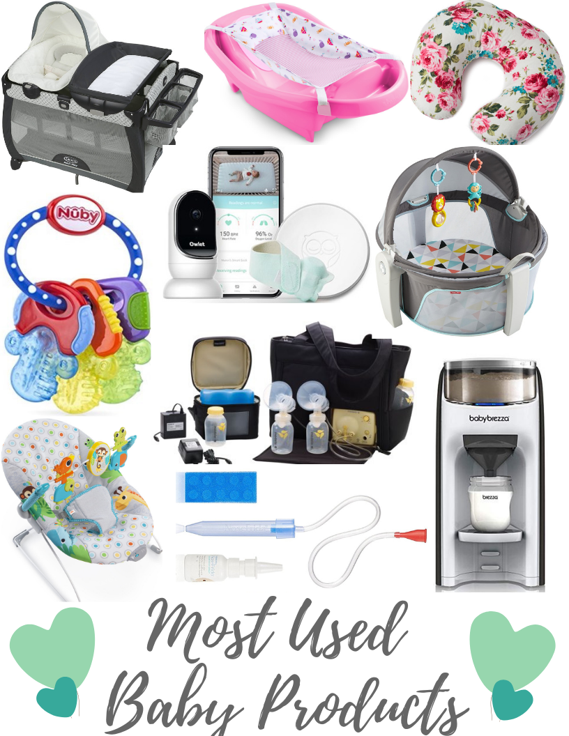 My Most Used Baby Products + Baby Registry Favorites