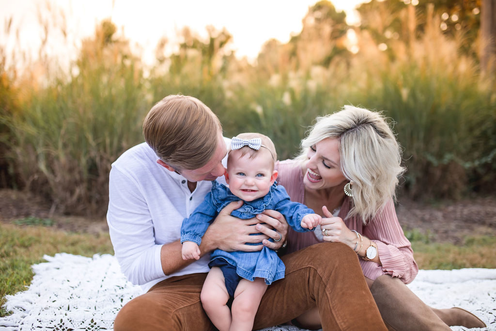 family pictures boho outfit idea holiday card