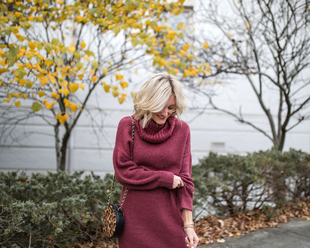 Sweater Dress and Thanksgiving Outfit Ideas from Express