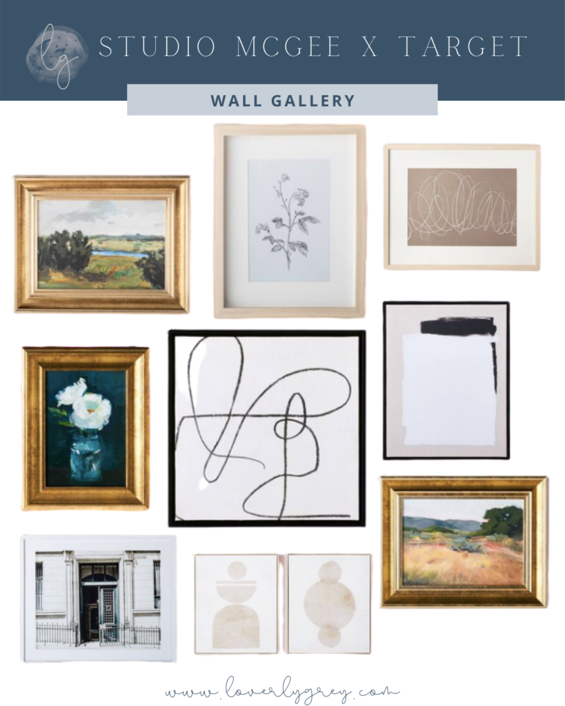 Wall Gallery Favorites From the Studio McGee x Target Collection