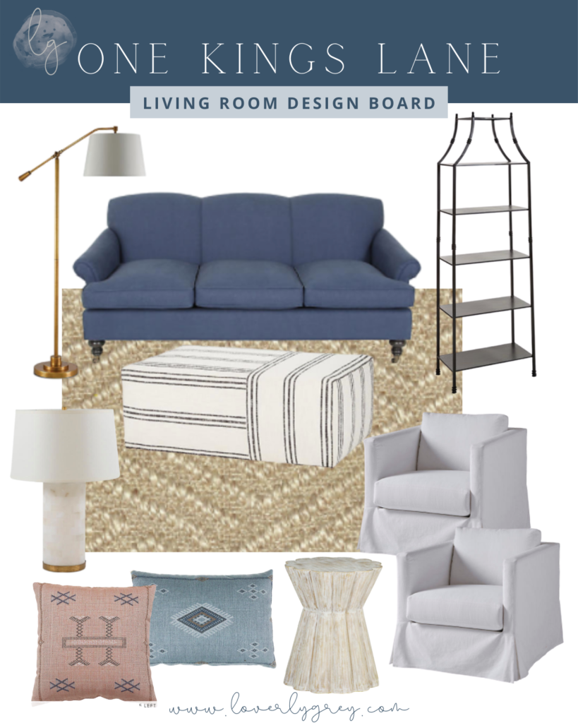 Living Room Design Board,Home Inspiration with One Kings Lane