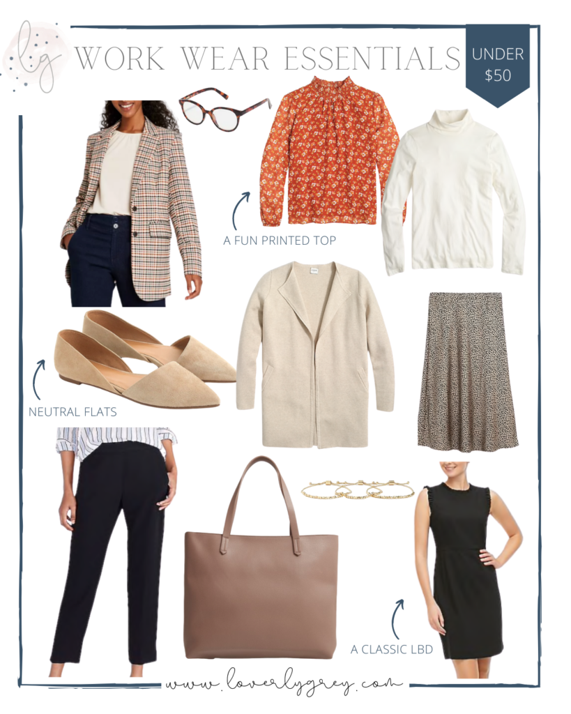 Closet Staples for Your Wardrobe