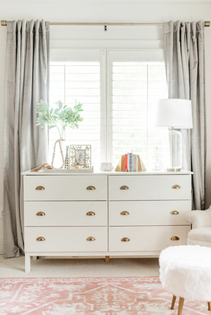 Modern Glam Nursery Reveal