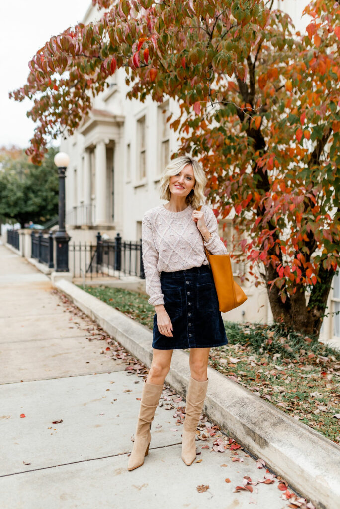casual fall work wear outfit