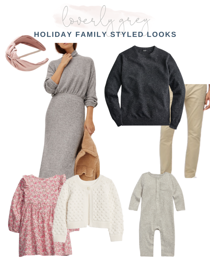 10 Holiday Styled Looks For Your Family