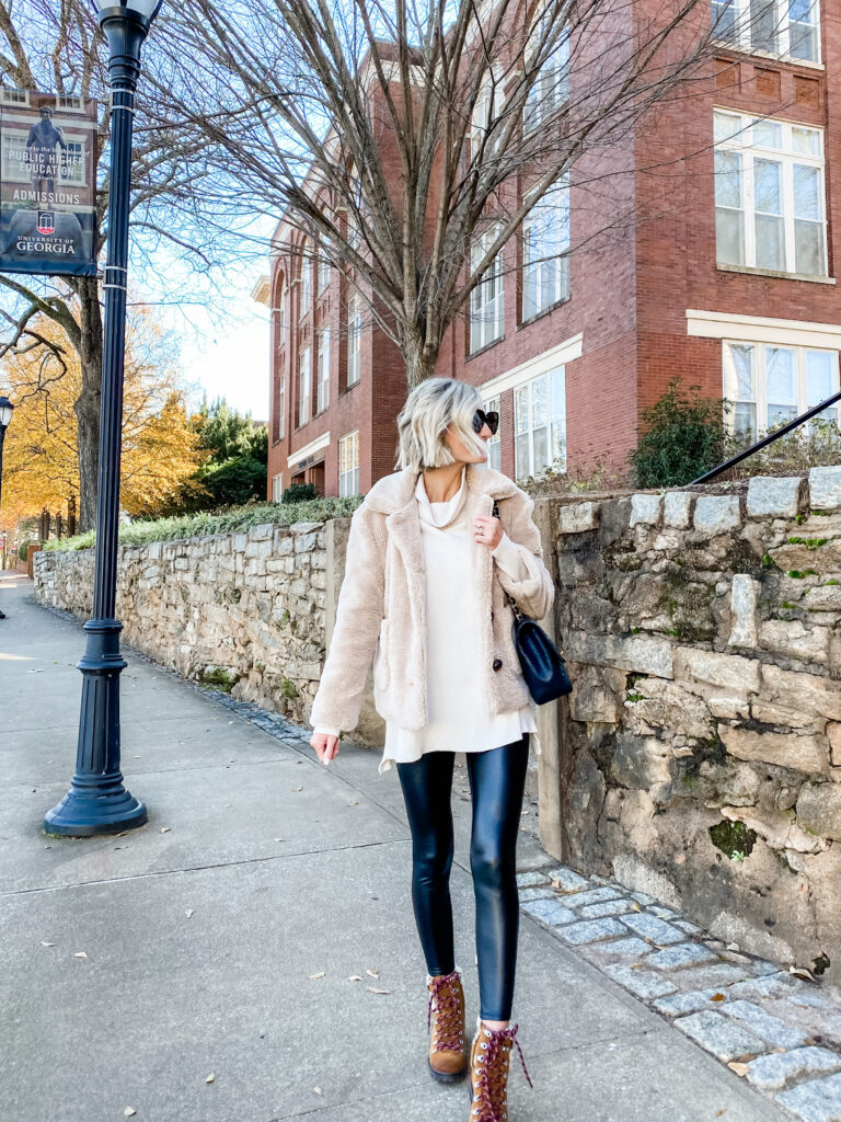 How to Style Sherpa Boots Two Ways