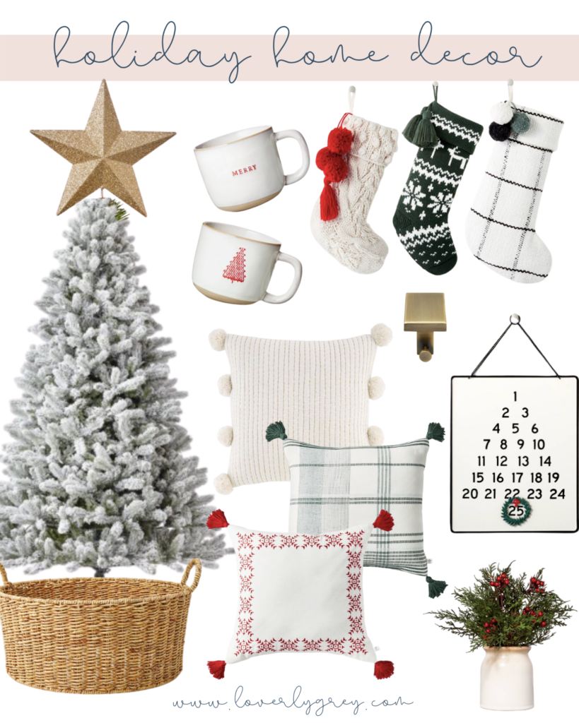 Deck The Halls with Holiday Decor