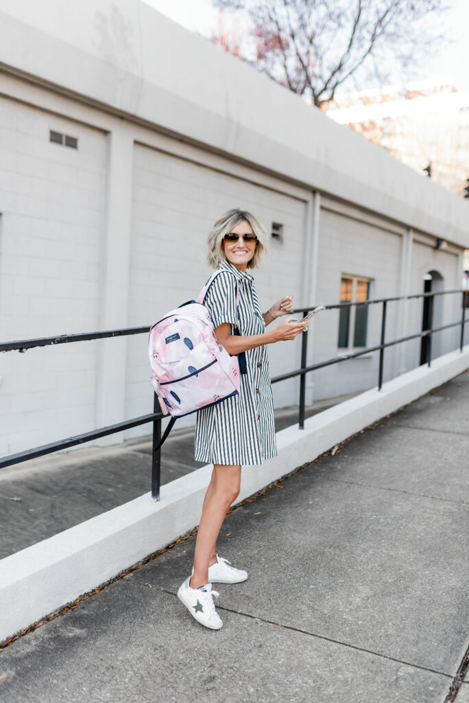 3 Ways To Style The Loverly Grey x Logan + Lenora Backpack