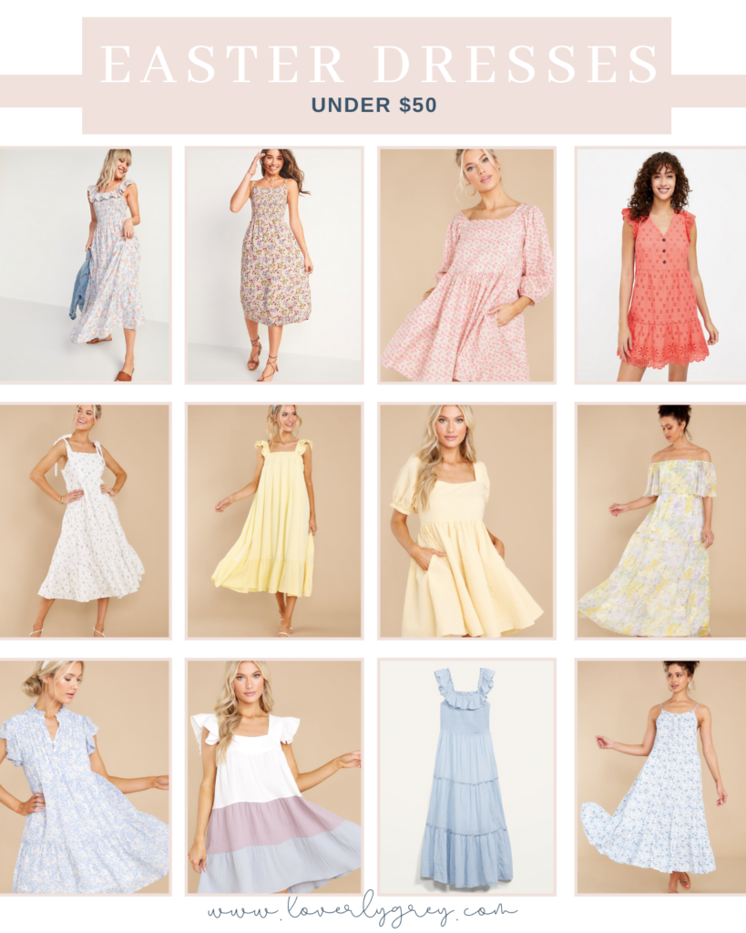 The Prettiest Easter Dresses