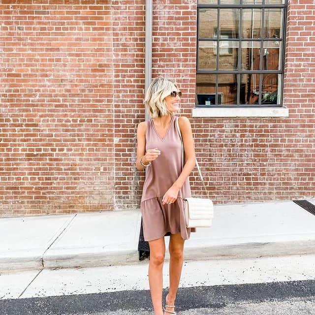 sleeveles spring dress