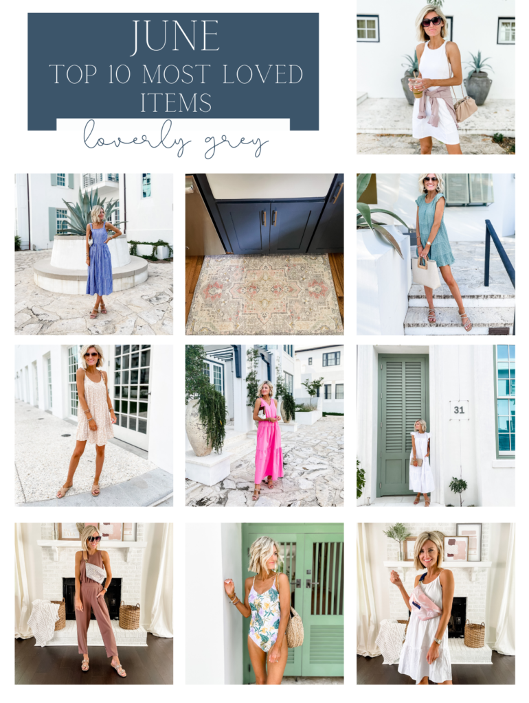 Most Loved Items from June
