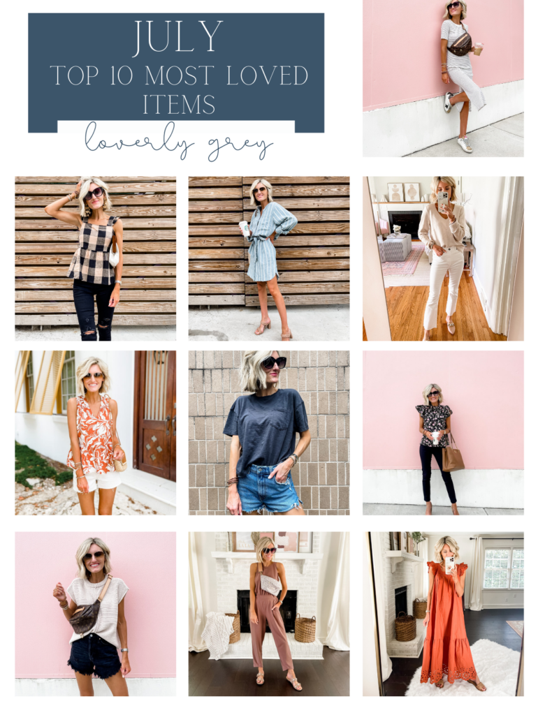 Most Loved Items from July 2021