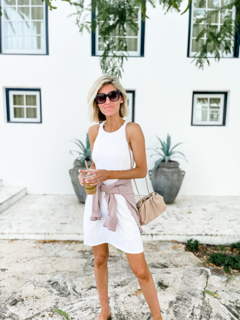 You Most Loved Items from August, white dress