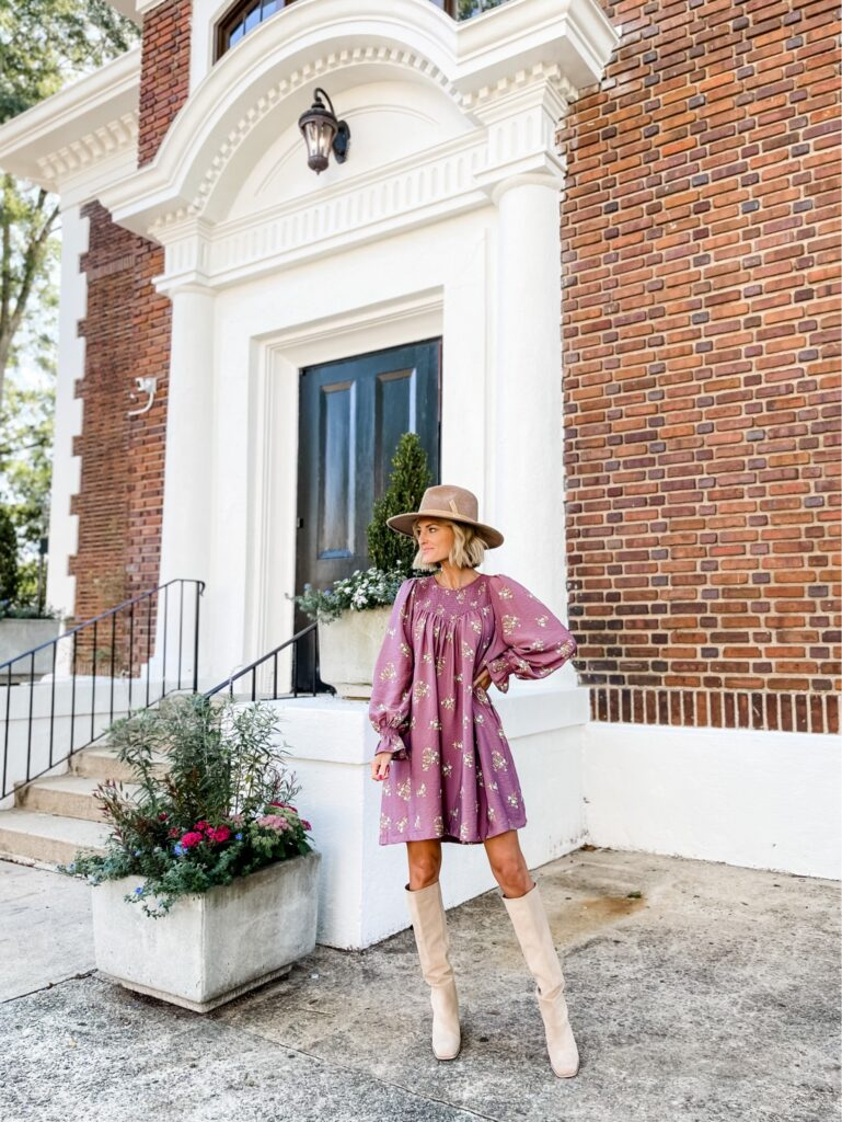 floral dress for fall | Most Loved Items from September